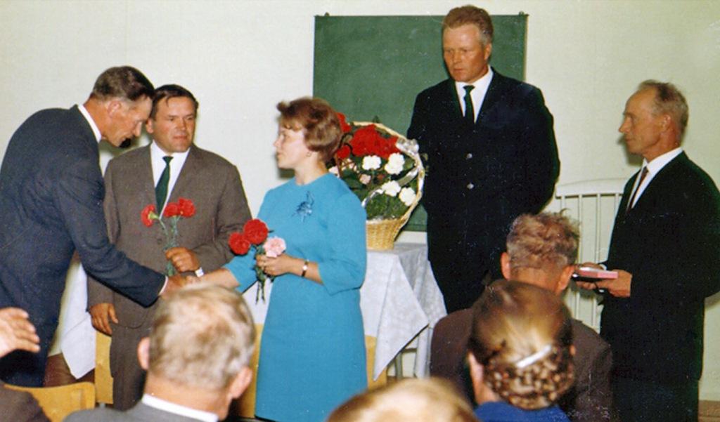 Kolkun koulun päättäjäiset 1967