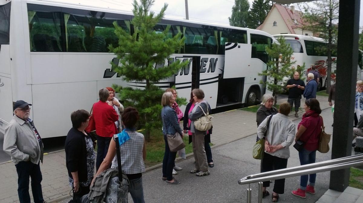 Kolkkulaisten Viron reissun kotimatka