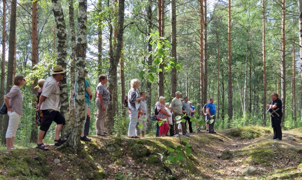 Tapio Paappanen kertoo Äyräpään-Vuosalmen taisteluista