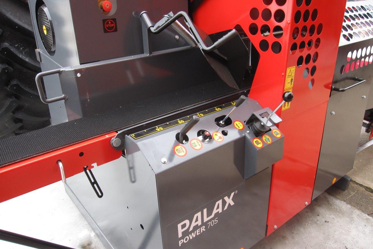 Palax Power 70S klapikoneen ohjaimet