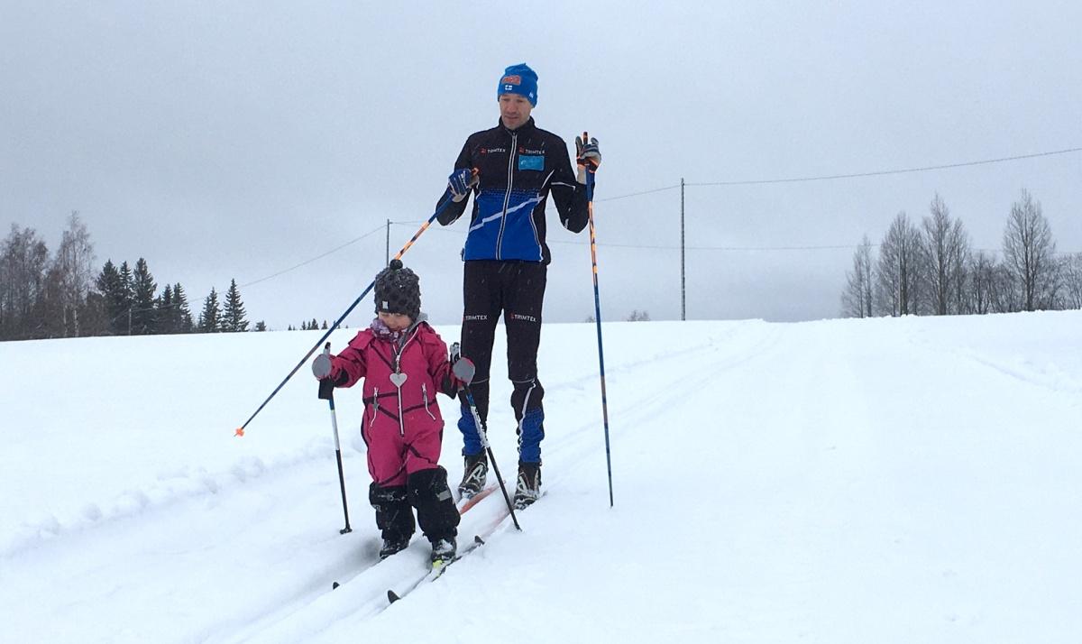 Alman hiihtovalmennusta